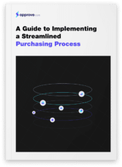 mockup implementing a streamlined purchasing process